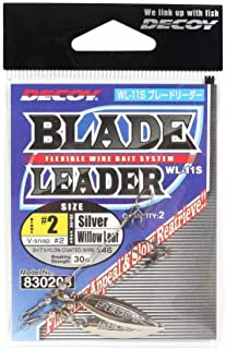 カツイチ(Katsuichi) デコイ WL-11S ブレードリーダー シルバー #2
