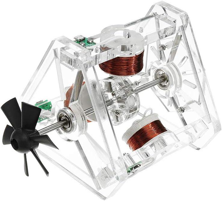 KINGDUO Stark-48 Hall Ventilador De Motor 3 Bobina De Alta Velocidad De Levitación Magnética Motor Brushless Motor Modelo S-30