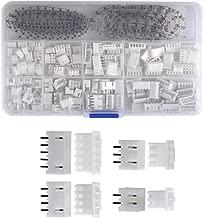 Eyech 560pc 2.54mm Dupont Connector Housing Male/Female Crimp Pins Adaptor Assortment Kit-White