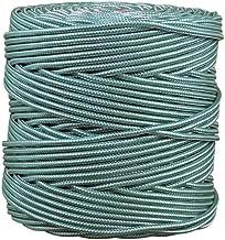Cofan 08101013 gevlochten koord met polypropyleen, wit-groen, 5 mm x 200 m