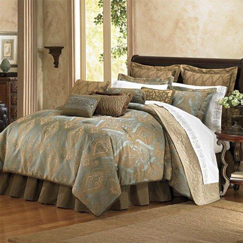 Queen 9-Piece Hallmart Collectibles 49068 Carrington Comforter Set