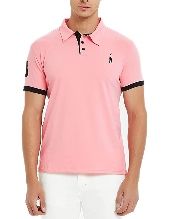 Glestore Men's Polo Shirts Golf Sports T-Shirt