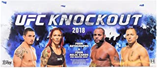 2018 TOPPS UFC KNOCKOUT TRADING CARDS HOBBY SEALED BOX