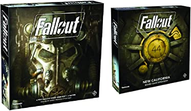 Fantasy Flight Games Fallout The Board Game with New California Expansion