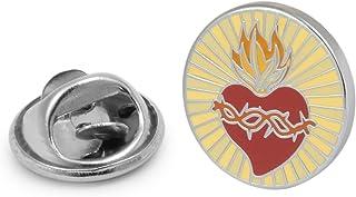 Gemelolandia   Pin de Solapa Sagrado Corazón de Jesus 16mm   Pines Originales Para Regalar   Para las Camisas, la Ropa o p...