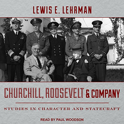 Churchill, Roosevelt & Company audiobook cover art