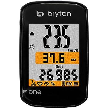 Noir /330/C Bryton Rider/ M Ordinateur GPS avec capteur de Cadence Mixte Adulte