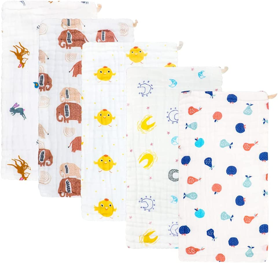 Muslin Burp Cloths Comfy Clothes OFFer Elegant - Baby Rags Boy G for