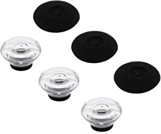 JNSA Eartips Replacement Ear Tips Kits Earpads Foam Set Cushion Compatible with Plantronics Voyager Legend, 5200, 5220, 52...