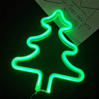 LED Neon Signs Wall Decor Christmas Tree,Night Lights Lamps Art Decor,Wall Decoration for Room or Christmas Decoration (Christmas Tree)