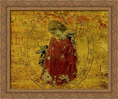 Madonna 24x20 Gold Ornate Wood Framed Canvas Art by Paolo Uccello