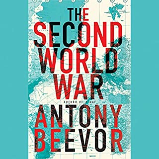The Second World War                   Written by:                                                                                                                                 Antony Beevor                               Narrated by:                                                                                                                                 Sean Barrett                      Length: 39 hrs and 18 mins     37 ratings     Overall 4.7