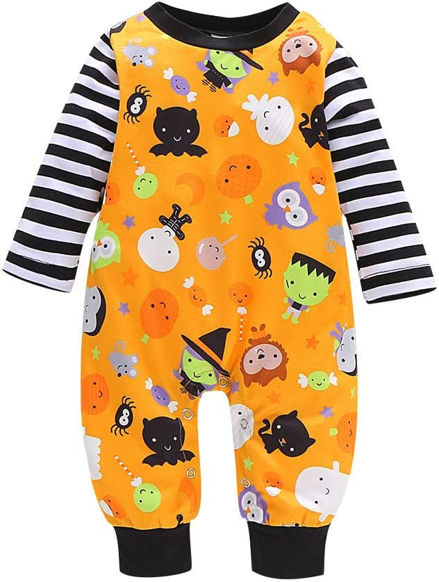 Franterd Halloween Baby Outfits Newborn Spring new work Girls Carto Infant Directly managed store Boys