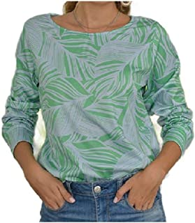 Winwinus Women's Floral Printed Loose Casual T-Shirt Sweatshirt Blouse Top