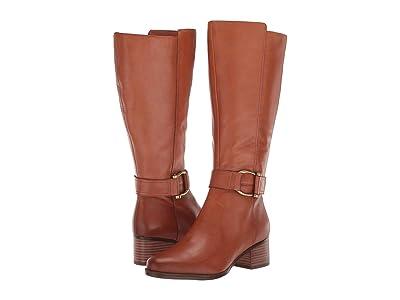 Naturalizer Daelynn Wide Calf (Light Maple Leather) Women