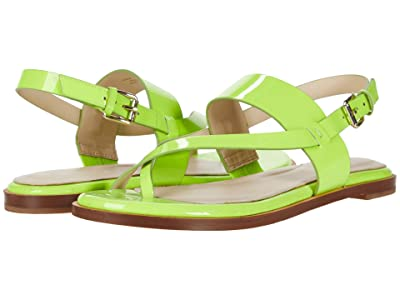 Cole Haan Anica Thong Sandal (Lightning Green Leather) Women