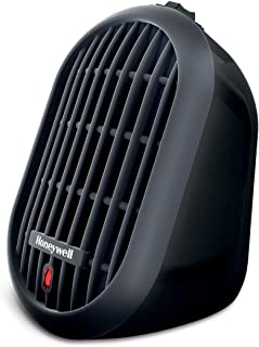 Honeywell HCE100B Heat Bud Ceramic Personal Heater, Black
