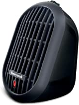 Honeywell HCE100B Heat Bud Ceramic Heater Black Energy Efficient Space Saving Portable Personal Heater With 2 Heat Setting...