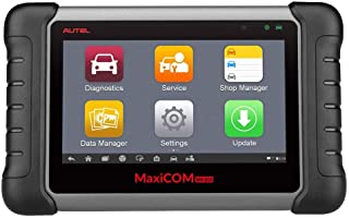 Autel MaxiCOM MK808 OBD2 Diagnostic Scan Tool with All System and Service Functions including Oil Reset, EPB, BMS, SAS, DPF, TPMS and IMMO (MD802+MaxiCheck Pro)