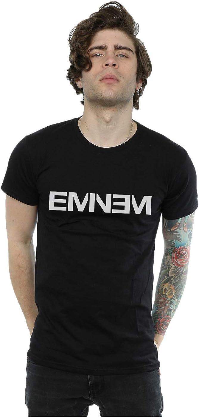 Eminem Hombre Plain Text Camiseta