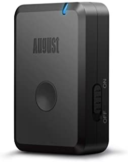 August Bluetooth Audio Receiver for Headphones MR230B - Make Wired Headphones and Speaker Systems - Suitable for Home Ster...
