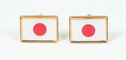 Japan Flag Cufflinks