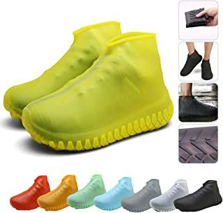 Silicone Shoes Covers, Shoe Covers, Rain Boots Reusable Easy to Carry for Women, Men, Kids.