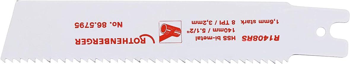 Rothenberger 865795 - Hoja de sierra hss bimetal 140x25x1.6