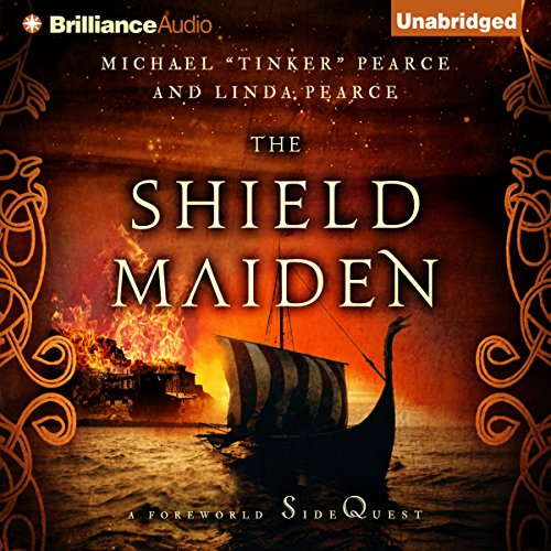 The Shield-Maiden audiobook cover art
