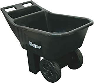 AMES 2463675 Easy Roller Jr. Poly Lawn and Garden Cart 3-Cubic Foot Capacity
