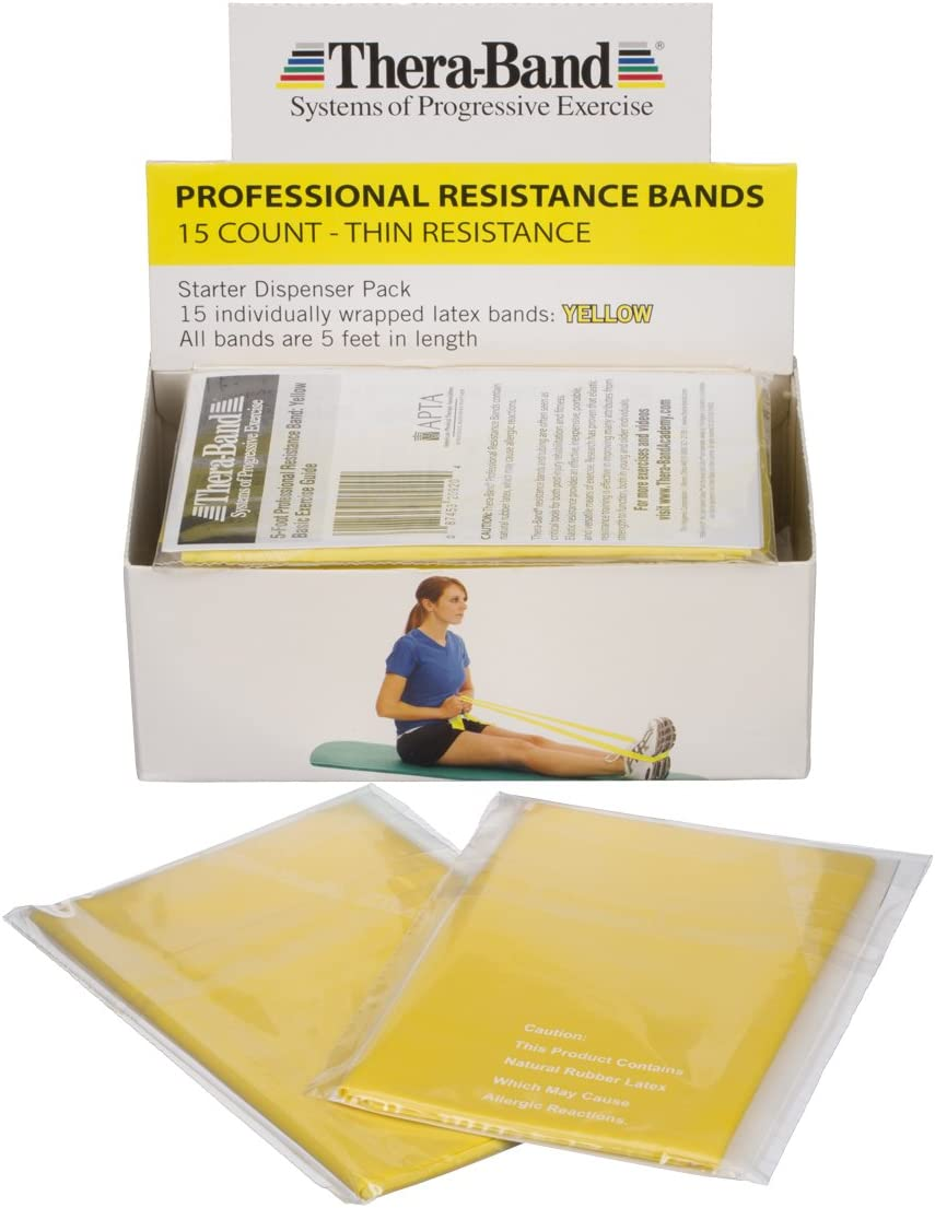 Oklahoma City Mall TheraBand Special price for a limited time Professional Latex Resistance Bands