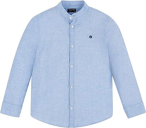 Mayoral 20-06156-017 - Camisa para niño 10 años: Amazon ...