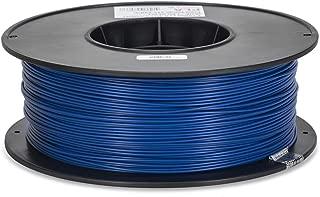 Inland 1.75mm Blue PLA 3D Printer Filament - 1kg Spool (2.2 lbs)
