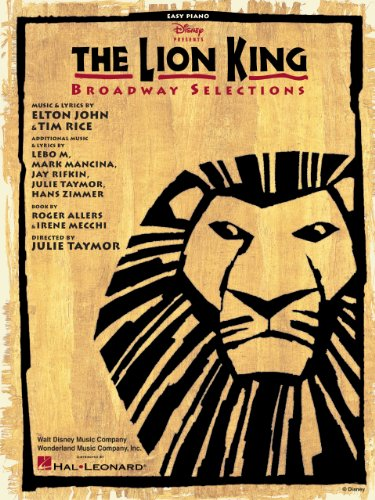 The Lion King - Broadway Selections Songbook (PIANO)