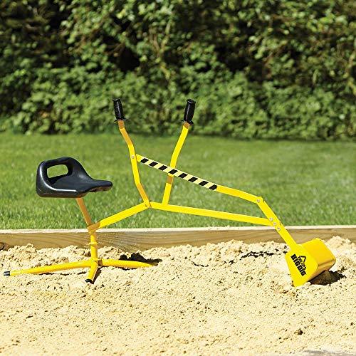 Reeves International The Big Dig Sandbox Digger Excavator Crane