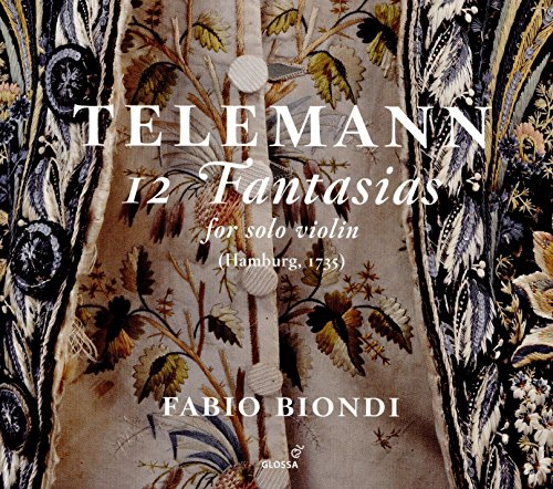 Telemann: 12 Fantasias for Solo Violin