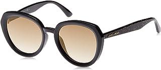 نظارات شمسية دائرية بعدسات بنية للنساء من جيمي تشو - (جيمي تشو براون)