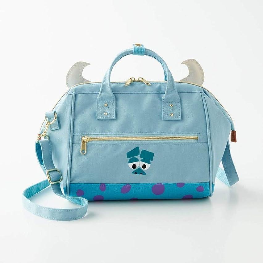 歌コントラスト被る[ベルメゾン] ディズニー バッグ カバン 鞄 レディース ショルダーバッグ がま口 デザイン ショルダーバッグ カラー サリー ライトブルー