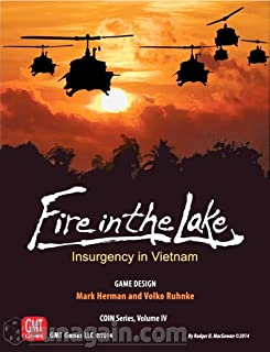 fire in the lake board game