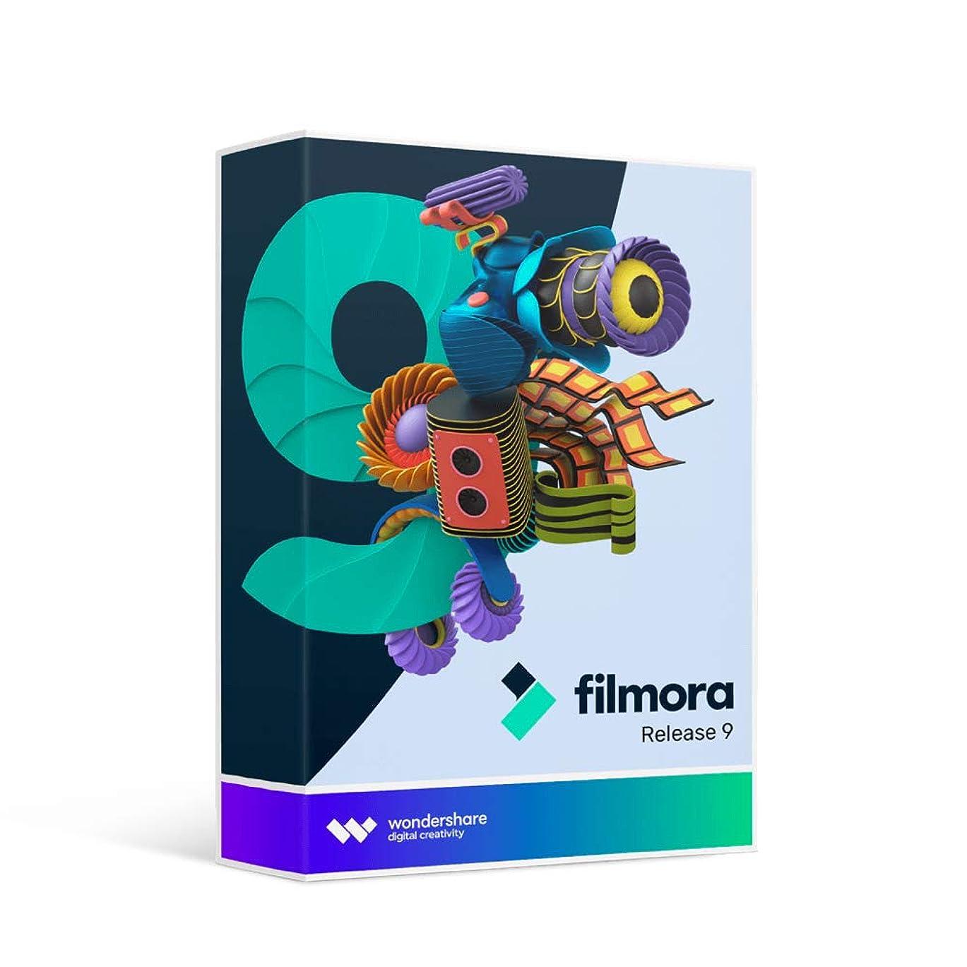 伝統的楽観的アレルギーWondershare Filmora9 (Mac版) 動画編集ソフト 永久ライセンス ワンダーシェアー