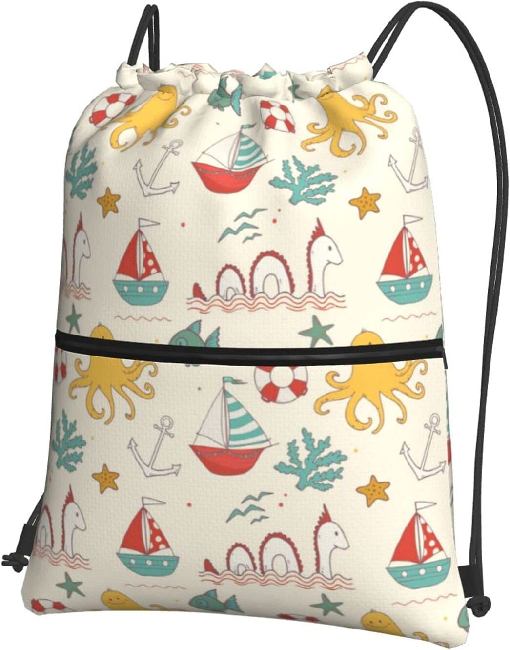 Reindeer Horn Cute Cheap mail order specialty store Octopus Anchor Drawstring Denver Mall Starfish Backp Boat