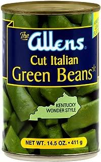 Allen's Cut Italian Green Beans 14.5 oz (Pack of 6)