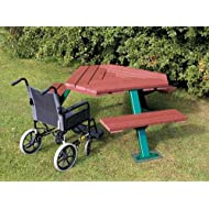 Recycled Plastic Disabled Access Picnic