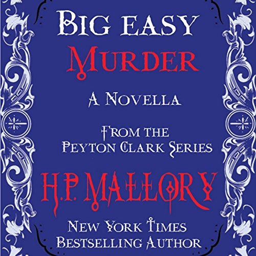 Big Easy Murder audiobook cover art