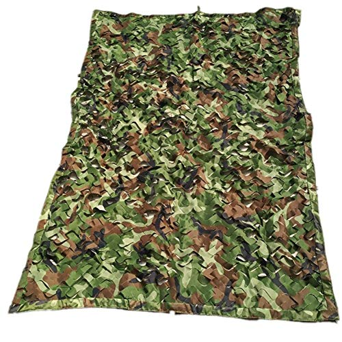 Tarnnet, jungle, camouflagennet, verdikte encryptie, outdoor, camping, jacht, party, decoratie, camouflagennet, 21 afmetingen (kleur: A 1 × 15 m) 3×6m A