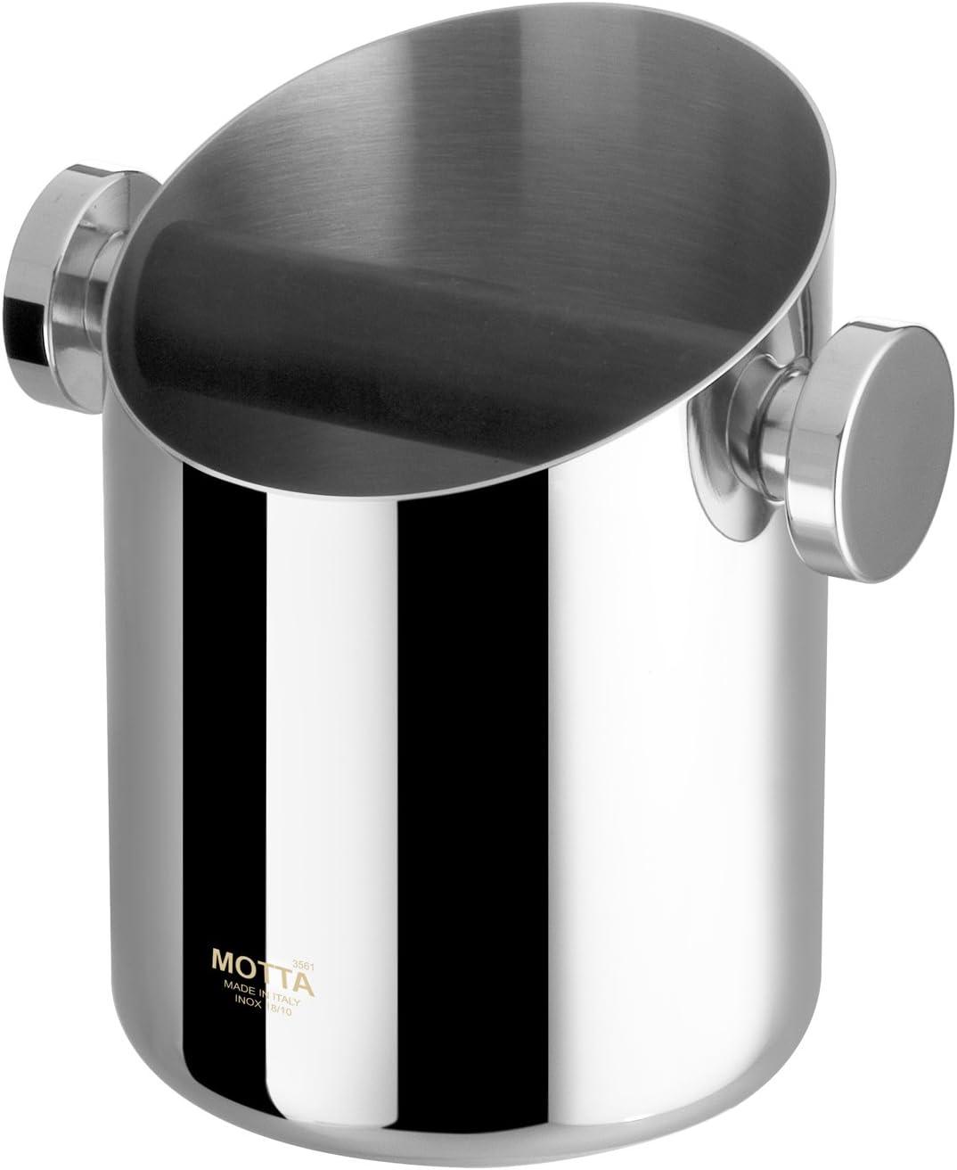 Motta stainless steel Knock Box - 11 diameter cm Limited Oakland Mall time sale