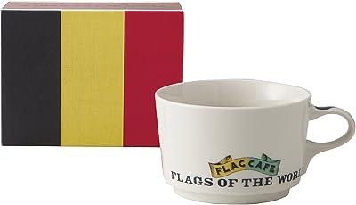 フラッグ カフェ マグカップ (ポストカード付) (化粧箱入) ベルギー 1071