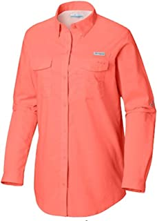 Columbia Women's PFG Bonehead II Long Sleeve Shirt, Cotton, Relaxed Fit