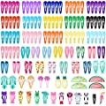 Cridoz 150 Pcs Barrettes Hair Clips, Clips for Hair, Hair Barrettes Snap Colorful Metal Hair Clips for Hair Accessories