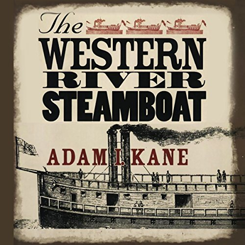 The Western River Steamboat audiobook cover art